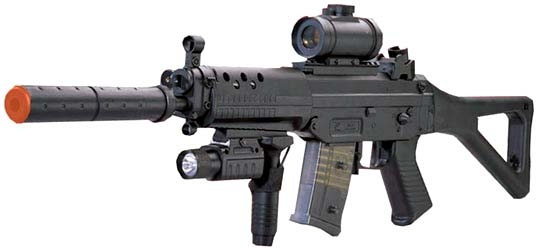 BBTac Fully Automatic Airsoft Gun