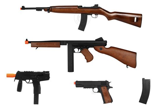 WW2 Airsoft Guns- The Best Classic Weapons Review -